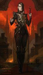FIELD OF THORNS - HERESY by Caisne