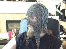 chainmaille coif,mask by Tulloran