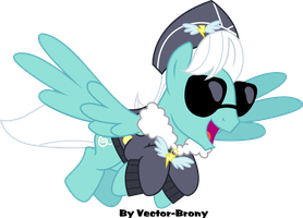 High Note as Commander Easy Glider by Vector-Brony