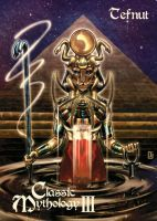 Tefnut Base Card Art - Peejay Catacutan by Pernastudios