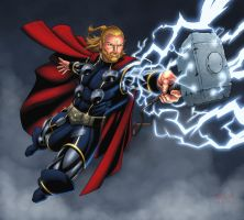 The Mighty Thor by Brian-Robertson
