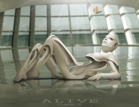 Alive by Jcdow3Arts
