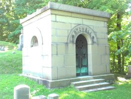 Mount Hope cemetery mausoleum by Android-shooter