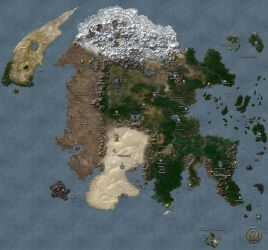 Continent of Enroth (MM6) by MarkonPhoenix