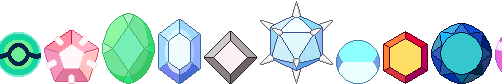 Steven Universe Corrupted/Other Gems by Never0ff