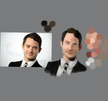 Elijah Wood Photostudy by HApPIE-GIRApHIE
