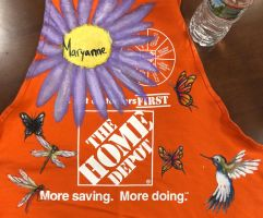 Home Depot Apron Design by swiftcross