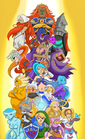 Hyrule warriors by xDarkSpineSonicx