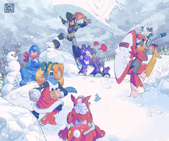 Secret Santa: Classic Snow Brawl, Winner Take All by s-uranet