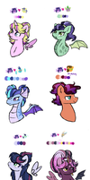 Doodle: Twilight sparkle shipping foals by mississippikite