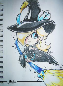 Rosalina cosplay magnolia bravely second mage trad by JamilSC11