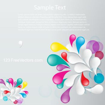Vector Floral Abstract Background Design Flowers by 123freevectors