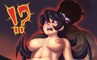 Filia Thighjob (crop) by SoulAddicted