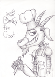 FNaF Original Character update- Gerald the Goat! by The-Heraldic-Sword