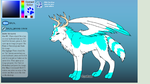 Wolf adopt (closed) by FlameNelson