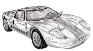 Ford GT by jointshadow