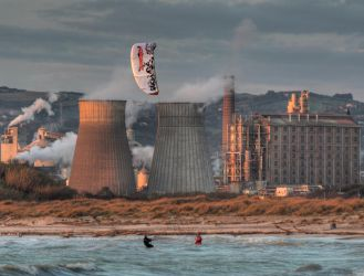 The factory and the kite 2 by marcodiquattro