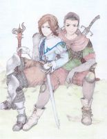 Gravihks Thespian and Woodsman by RetteMichBabe