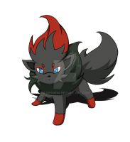 Zorua by KanyMon
