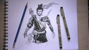 Hanzo-Overwatch! by VivekJagtap