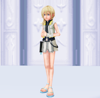 [MMD] Namine Alt Outfit 1 by AriquaXIII