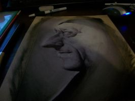 jacques yves cousteau WIP 2 by Hambuster122