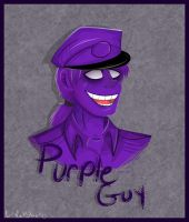 Purple Guy by DayByDayArtwork