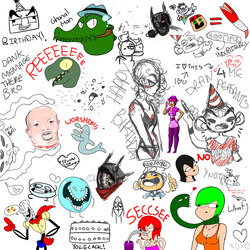 Art Lounge Drawpile #5 by Masterfireheart