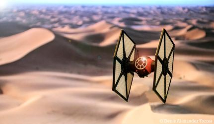 First Order Special Forces Tie Fighter - Star Wars by torreoso