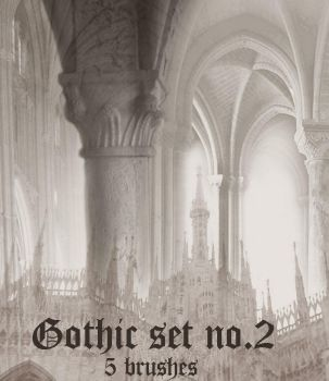 Gothic Brush Set 2 by wyckedBrush