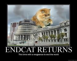 ENDCAT RETURNS by MichaelKnouff