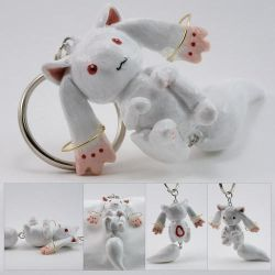 Kyuubey Dangle-Tail Charm by xella