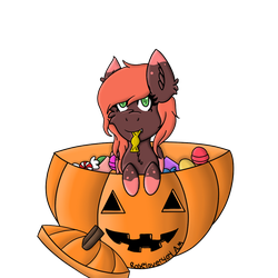 Halloween YCH Example by roselover404