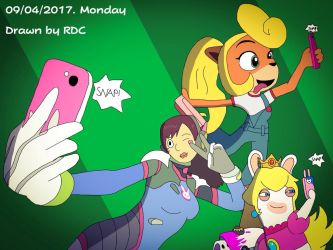Time to Take a Selfie by Fester1124