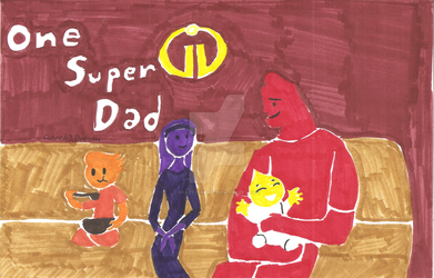 A Super Super Fathers Day by Scared2dream