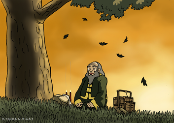 The Tale of Uncle Iroh by Juggernaut-Art