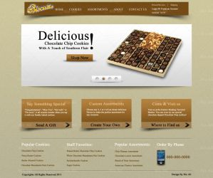 Biscuits Web Interface by Downgraf