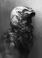 mutating helmet by BennyKusnoto