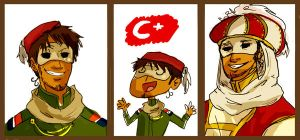 APH: Turkey, Turkey and Turkey by eokani