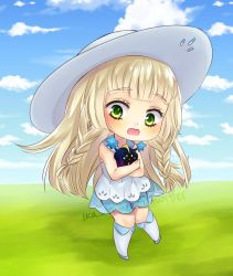 Lillie Chibi by Ika-Hime