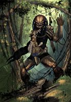 Predator commission completed by Javilaparra