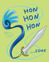 Hon hon hon edge by Weirda-s-M-art