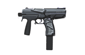 Shadowrun Steyr TMP Machine Pistol by raben-aas