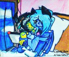Humixels(AU): The baby is finally here!(Niksbert) by Ceja4Chain