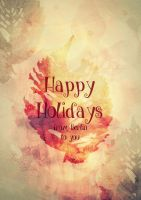 Holiday Card Project 2015 by mercurycode