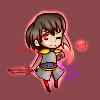 Chibi Copper Lightvale collab with Purely by FriskiesTheArtist