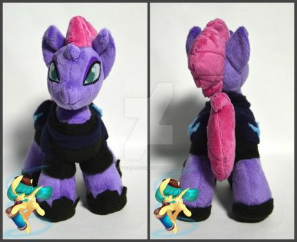 Tempest Shadow plush by GingerAle2016