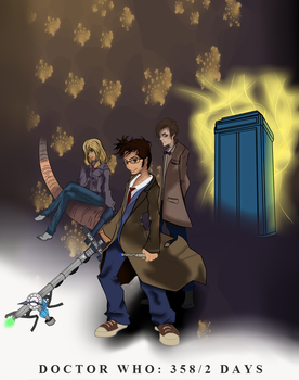 Project Anime: Doctor Who: 358/2 Days (WIP#3) by TheDoctorArtist