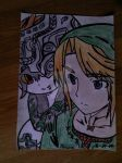 Midona et Link version couleur by moonshadow456