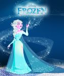 Frozen Elsa forever by LittleMiky